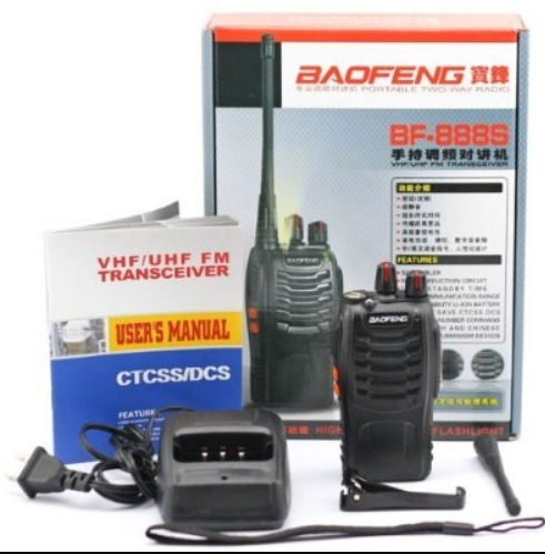Set 10 buc Baofeng BF-888S cu 20 acumulatori 1500 mAh + Bonus Cablu+CD programare