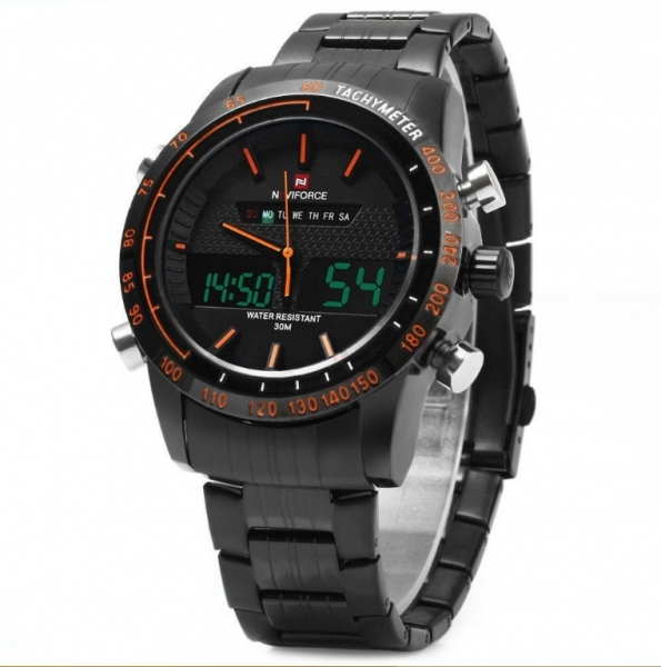 Ceas dual core Naviforce sport military, army