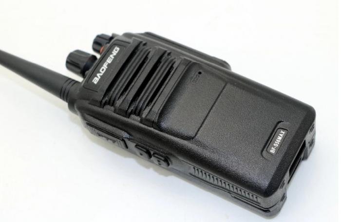 Statie radio Baofeng BF- S56MAX dual band 10 W , radio FM , IP57