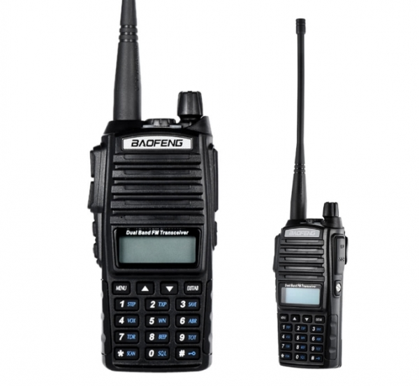 Statie Radio  Baofeng UV-82 Dual Band Transceiver 5W  128 canale , Radio FM