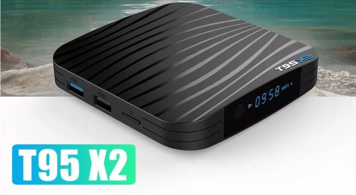 Raldio T95X2 Mediaplayer Smart TV Box  2 GB si 16 GB RAM miniPC Android 8.1  8000 posturi TV LIVE din intreaga lume 5
