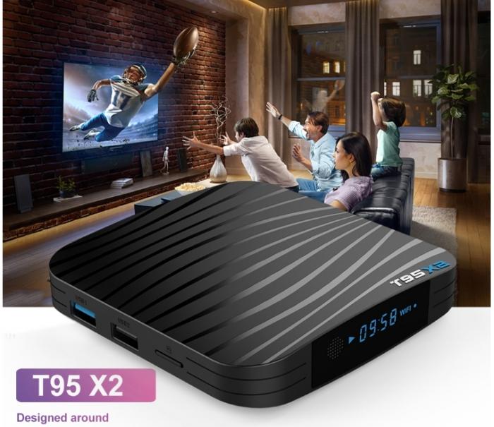 Raldio T95X2 Mediaplayer Smart TV Box  2 GB si 16 GB RAM miniPC Android 8.1  8000 posturi TV LIVE din intreaga lume 0
