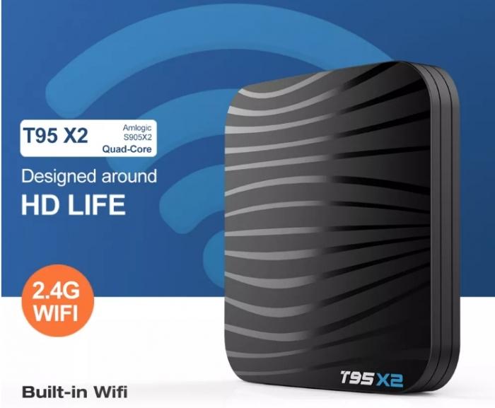 Raldio T95X2 Mediaplayer Smart TV Box  2 GB si 16 GB RAM miniPC Android 8.1  8000 posturi TV LIVE din intreaga lume 7
