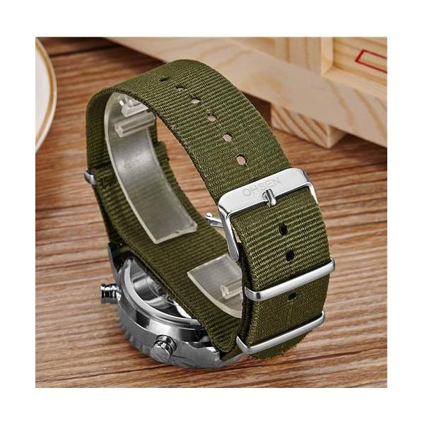 OHSEN ceas military, army, sport, dual core