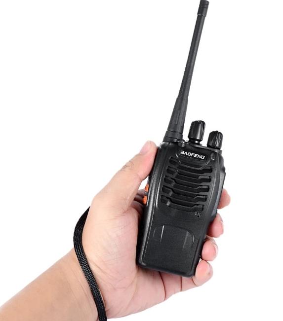 Set 4 buc Statii Radio Walkie Talkie Baofeng BF-888S UHF 400-470MHz 16CH PROGRAMABILE + Cablu si CD programare 2