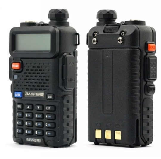 Set 10 statii radio Baofeng UV-5R Dual Band Tranciever + Bonus Casti cu microfon incluse 3