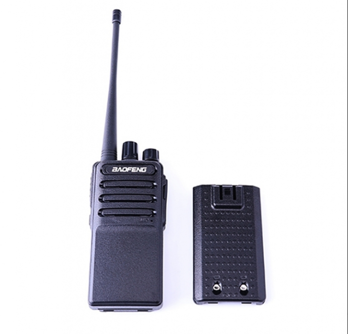 Set 2 buc Statii Radio Walkie Talkie Baofeng BF- V2 UHF 400-470MHz 16CH PROGRAMABILE, incarcare USB 5V + Cablu si CD programare 2