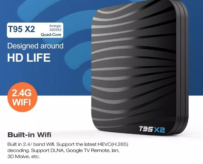 Raldio T95X2 Smart TV Box  4 GB si 32 GB RAM miniPC Android 8.1 8000 posturi TV LIVE din intreaga lume 5